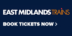 East Midlands Trains, Book Tickets Now